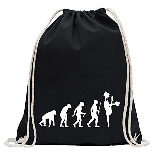 Cheerleader Evolution T-Shirt Motiv bedruckt Funshirt Design Print