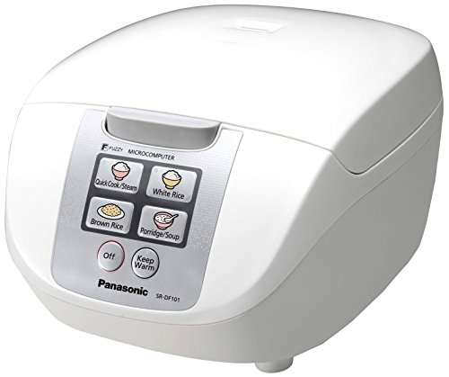 Panasonic SR-DF101WXB Arrocera/Vaporera, 750 W, 1 Liter, Blanco