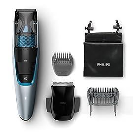 Philips BT7210/15 Series 7000 Regolabarba Aspirante con e senza Filo, 75 Minuti di Autonomia, 1 Pettine di Precisione, Custodia