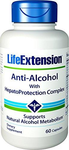 Anti-alkohol (Life Extension, Anti-Alcohol Complex, 60 Capsules)