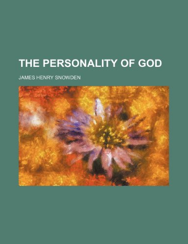 The Personality of God