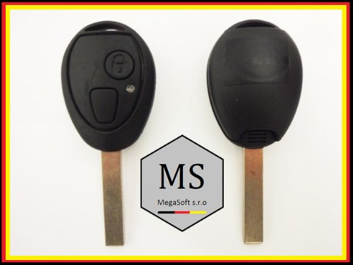 MegaKey-MS Schlüssel Gehäuse Rohling Fernbedienung Funkschlüssel KS14 (Mini Cooper Ersatzschlüssel)