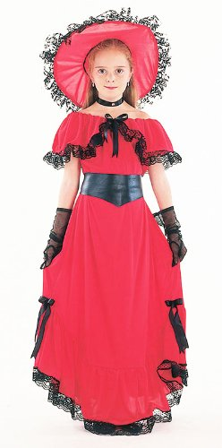 Kinder Kostüm Scarlet O 'Hara Gone With The Wind Outfit ()