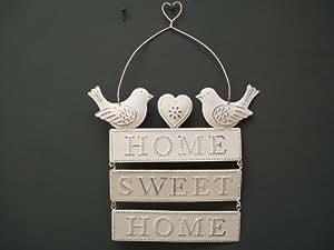 Sass & Belle Plaque Home Sweet Home 18 x 15 cm