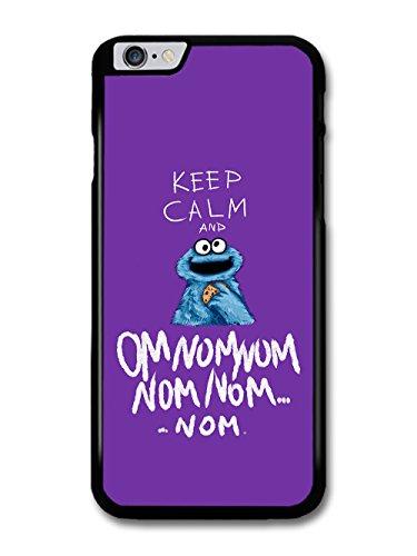 Micro Gorilla Keep Calm Monster Cookie Sesame Street Quote hülle für iPhone 6 Plus 6S Plus