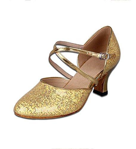 Meijili, Scarpe da ballo donna Gold