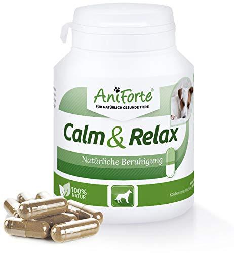 AniForte Calm & Relax Anti-Angst-Kapseln 100 Stück - Naturprodukt für Hunde