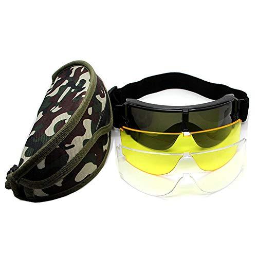 Augproveshak Sonnenbrillen und Etui, Outdoor-Sportbrillen mit Kopfband, leichte Bequeme Sonnenbrillen für Radfahren, Laufen, Strandreisen