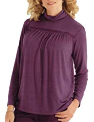 adonia mode Chicer Edel-Rolli Rollkragen Tunika Shirt Gr:40/42 - 56/58