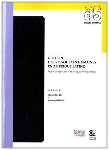 Gestion des ressources humaines en Amérique Latine par Gilles SIMARD
