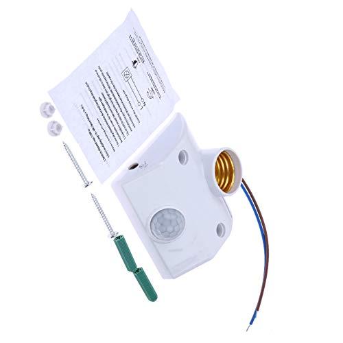 Flushzing E27 AC220 50/60 Hz Infrarot-Bewegungs-Sensor-Automatik-Licht-Halter-Schalter Intelligent Light Motion-Sensing-Switch -