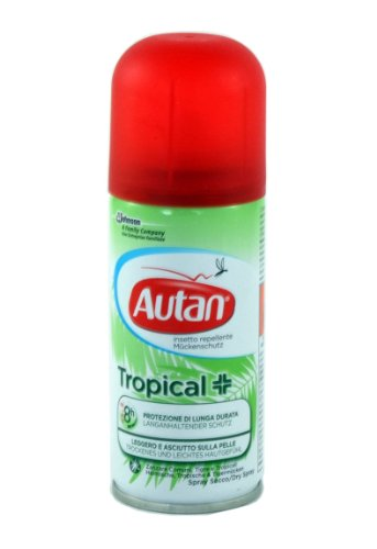 Autan Tropical Dry Spray, 100 ml