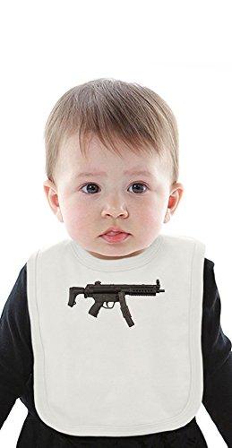 Submachine Gun Organic Bib With Ties Medium -