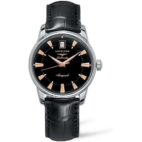 Longines L16114522 Conquest Heritage Automatic Reloj Unisex