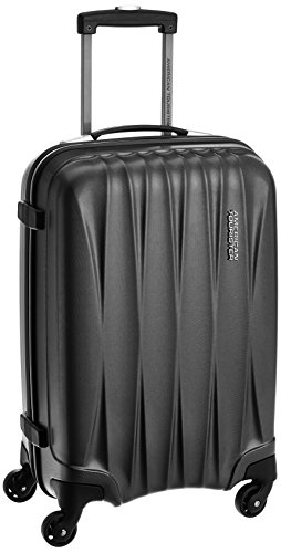 American Tourister Polycarbonate 55 cms Gun Metal Carry-On (38W (0) 58 001)