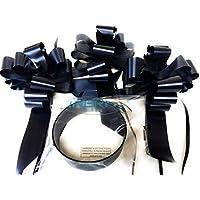 """Preisvergleich für INERRA Hochzeitsauto Dekorationsset - 3 XL Vormontiert 7"""" Schleifen mit 14-Loops und 7 Meter von Band – mit Farben..."""