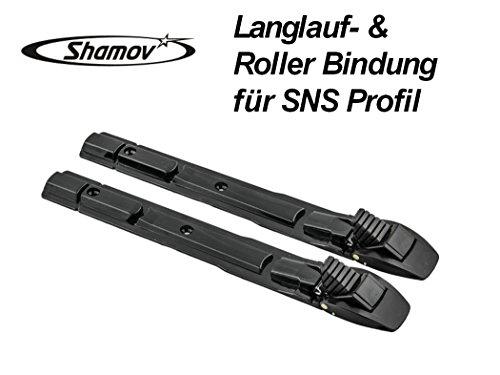 Skibindung Langlaufbindung Rollerbindung mit SNS Profil