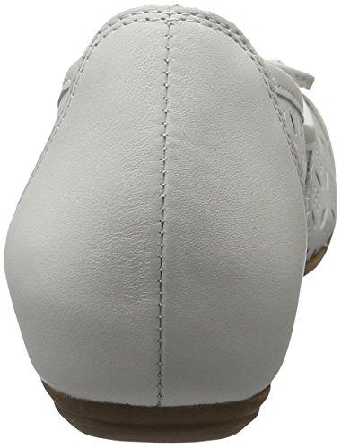 Caprice 22114, Bailarina Mujer Blanca (nappa Blanca)