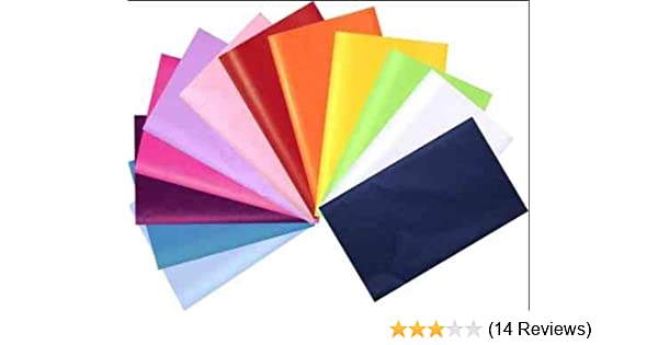"""18gsm Wrapping Paper 18/"""" x 14/"""" 20 Sheets of Acid Free 45cm x 35cm Tissue Paper"""