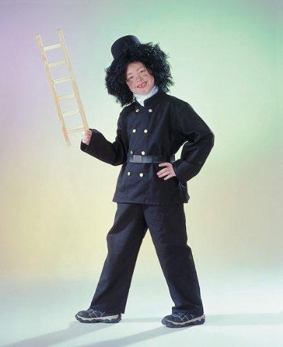 Karneval Kinder Kostüm Schornsteinfeger Größe -
