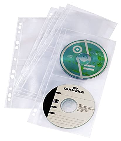 CD/DVD-Hülle COVER LIGHT, COVER LIGHT S, A4 schmal, PG=5ST, transparent