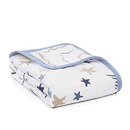 aden mehr Anais Aden Anais–Decke für Kinderwagen Rock Star 6094