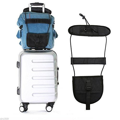 d65215d9db25 Divinezon Luggage Strap Belt Adjustable Belt Carry Bag Strap Travel Luggage  Suitcase On Bungee Travel Supply