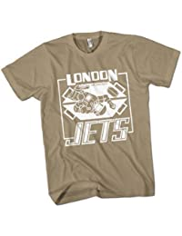 London Jets Mens Premium T-Shirt Choice of 15 Colours Small to 3XL