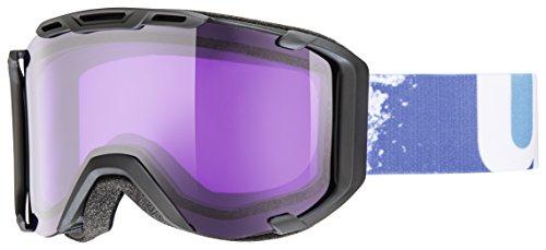 UVEX Maschera da sci snowstrike - black mat/ S2