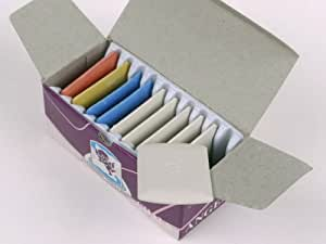 Schneiderkreide, verschiedene Farben, 10 Stück