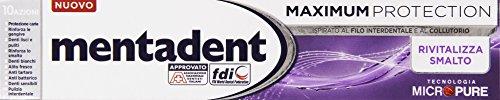 Mentadent - Maximum Protection, Dentifricio Rivitalizza...