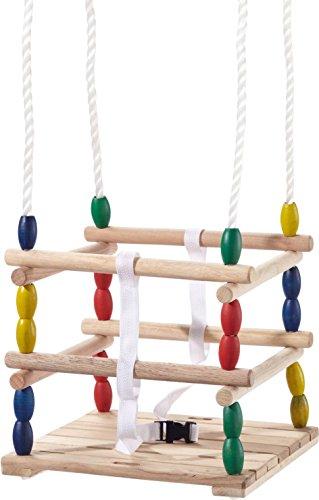 Beluga Spielwaren 70207 - TWIPSOLINO Holz-Gitterschaukel Babyschaukel