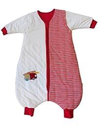 Schlummersack Ganzjahres Schlafsack mit Füßen in 2.5 Tog mit abnehmbaren Ärmeln - in verschiedenen Designs für Jungs und Mädchen