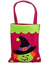 COMVIP No Tejidos de decoración de Halloween práctico del Caramelo del Bolso del Gato Holder 18