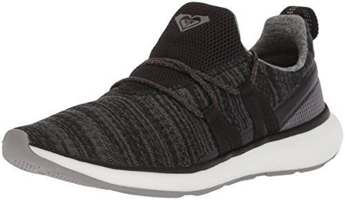 Roxy Women's Set Seeker Athletic Shoe Running, Black, 8.5 M US