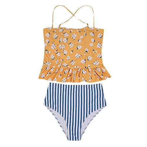 Bikini-Badeanzug, Zweiteiler Schwangere Bikini-Badeanzug 2019 Bikini Woman Push up Tankinis Größen Prime Badeanzug Mädchen Lycra Monokini Langarm X-Short Fundamentals Bade, Herren Damen Bade - Lücke Womens Bikini