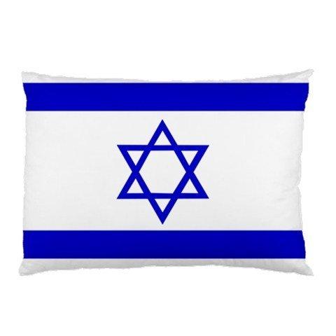 Israel Von Bild (Flagge von Israel Kissenbezüge in Größe 45,7x 66cm und 2seitliche Bild in Kopfkissen Kissen Fall Typ # 2101)
