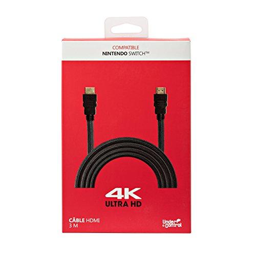 Câble HDMI 4K 3 m pour Nintendo Switch