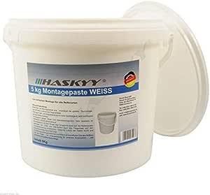5kg Reifenmontagepaste Reifenmontierpaste Montagepaste Weiß Montagewax Reifen Auto
