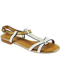 Poti Pati DH033, Zapatillas Mujer, Beige/Caqui, EU 38