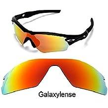 Galaxy Lentes De Repuesto Para Oakley Radar Path GAFAS DE SOL ROJO f772e225e3