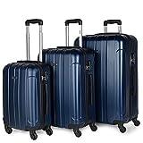 ITACA - Maletas de Viaje Rígidas 4 Ruedas Trolley ABS. Resistentes y Ligeras. Mango Asas Candado. Equipaje de Mano. Pequeña Cabina Low Cost Ryanair Mediana. Grande XL y Juego