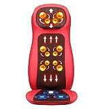 E-KIA MassagegeräT Sessel Elektrisch Matte,Auto-Massagekissen des Hinteren TaillenköRpers des Halses, AC100V ~ 240V Spannung