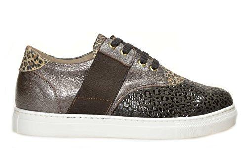 Sneaker Gianluca Antano art. Luigia. Versione Disegno Tdm - Palermo Tdm Nr. 37. Calzature confort da donna in pelle Made in Italy. Calzaturificio Faber