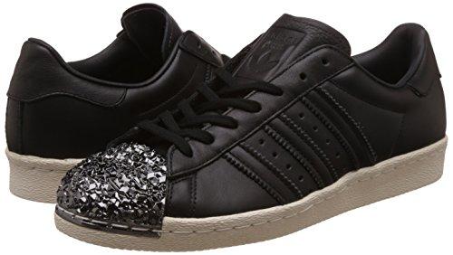 adidas Originals Superstar 80s 3D MT W, core black/core black/off white Nero