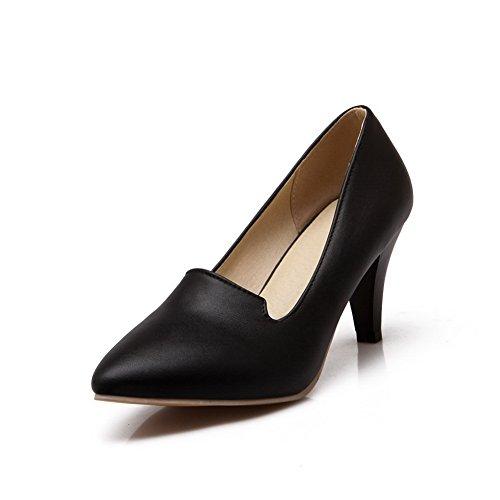 Balamasaapl10359 - Sandales Compensées Pour Femmes, Noir