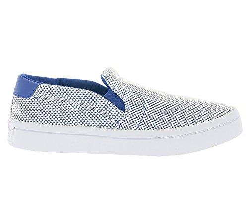 adidas Originals Court Vantage Adicolor Schuhe Damen Sneaker Slipper Weiß S81870 Weiß