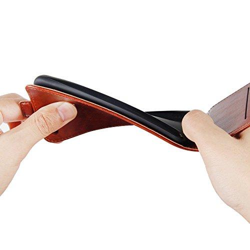 Funda   Capirotazo Billetera LG G7  Marr  n
