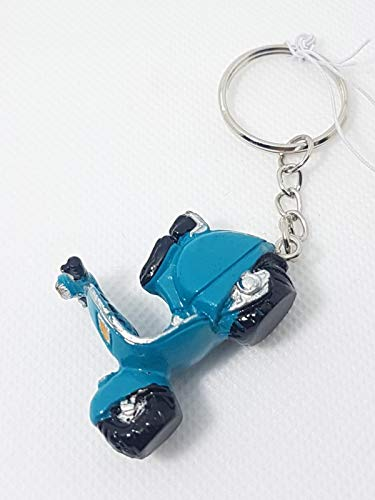 Signes - Llavero Vespa Resina Azul 4 cm 58476SG