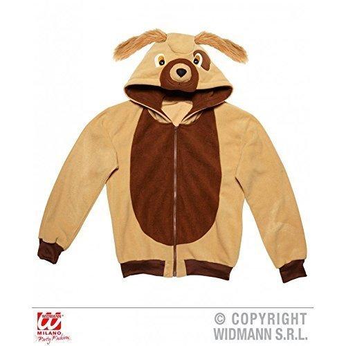 Carino Giacca / Felpa / Giacca con cappuccio / Costume da animale come Cane / Doggie / Costume cane con cappuccio Tgl L / XL - Cane Carino Travestimenti